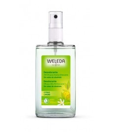 DESODORANTE de CITRUS spray 100ml frasco WELEDA