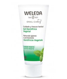 PASTA GEL DENTIFRICO 75 ml VEGETAL Weleda