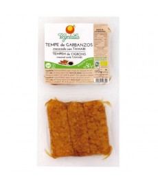 TEMPE de GARBANZO MACERADO Fresco 170g VEGETALIA