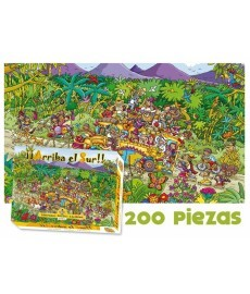 PUZZLE 200 piezas Arriba el Sur EKILIKUA