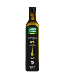 ACEITE de LINO 500ml NaturGreen