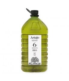 ACEITE de OLIVA garrafa 5L ARTAJO 6 Arbequina Bio
