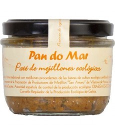 PATE de MEJILLONES eco Tarro 125g PAN DO MAR