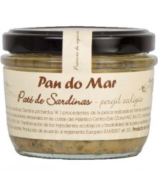 PATE de SARDINAS con perejil eco PAN DO MAR