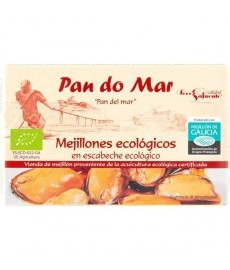 MEJILLONES en escabeche 120ml Lata PAN DO MAR