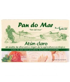 ATUN CLARO en ACEITE de OLIVA 120 ml PAN DO MAR