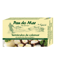 TENTACULOS de CALAMAR en ACEITE 120ml PAN DO MAR