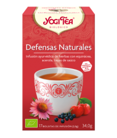 Infusion Yogi Tea DEFENSAS NATURALEScaja17bolsX2g
